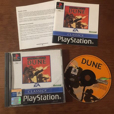 Jogo PlayStation 1 Dune - PS1 - PS One