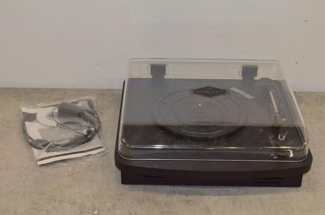 Gramofon w stylu retro z wbudowanymi głośnikami Auna TT370 Nowy