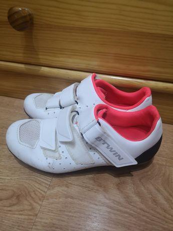 Sapato Ciclismo/BTT Btwin 500 woman