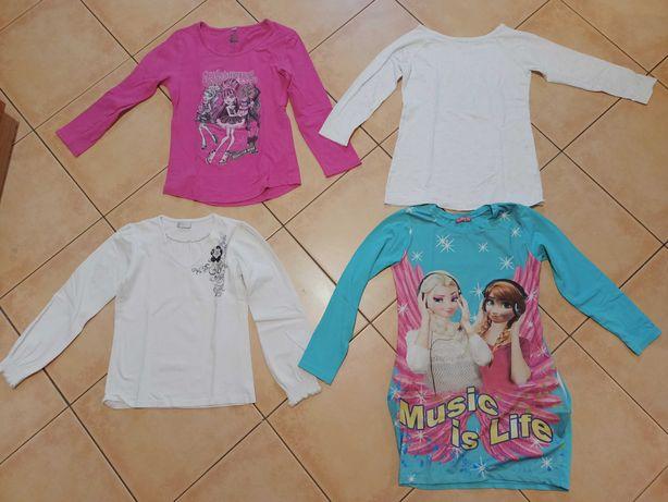 Zestaw komplet bluzki NOWE spodnie 11/12 lat, Monster High Kraina Lodu