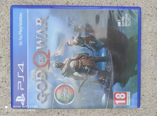 Jogo PS4 God of Wars