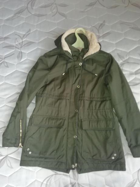 Курточка ZARA весняна (осінь) 44-46 (28). Хакі