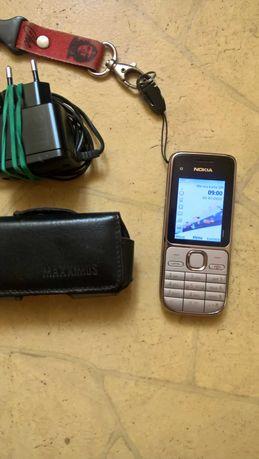 Nokia C2-01 Prosty telefon dla starszej osoby + gratis futerał