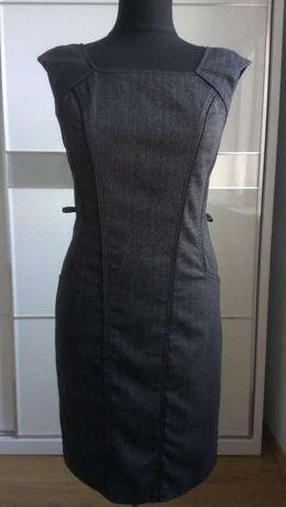 NEXT платье карандаш футляр офис М сарафан