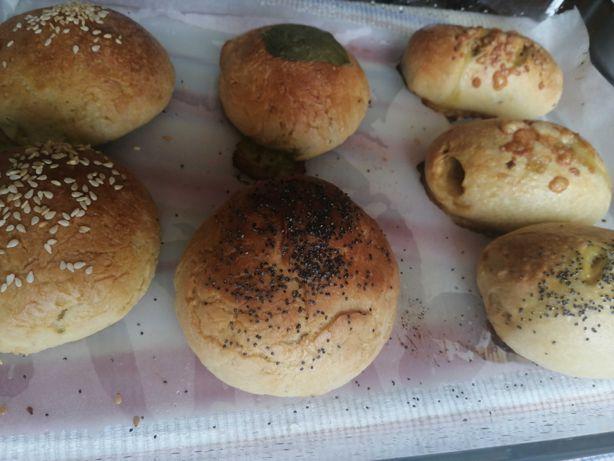 Pão caseiro congelado para assar em casa