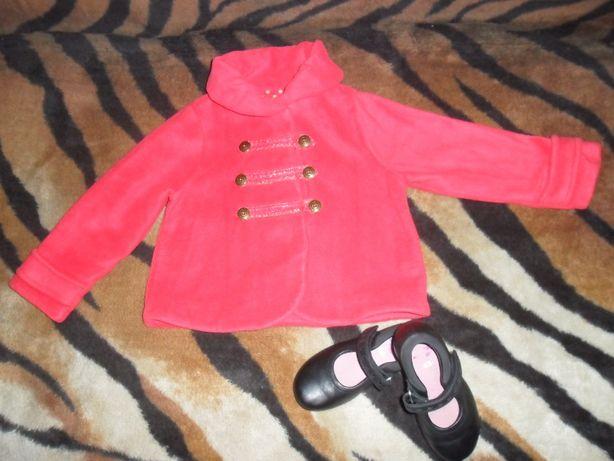 Пальтишко (пальто, курточка, деми, демисезонное) девочке Next 2-3 года