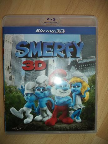 """Smerfy 3D- film pełnometrażowy [Blu-Ray 3D] + """"Harry Potter"""""""