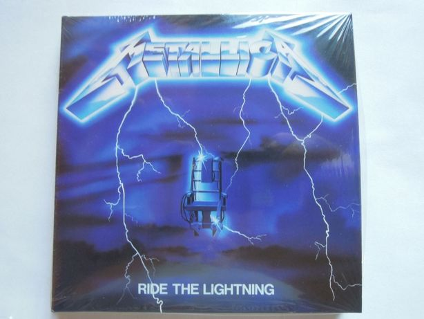 metallica ride the lightning nowa w foli