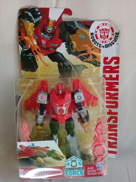 Hasbro Трансформер Роботс-ин-Дисгайс Twinferno Оригинал! Transformers