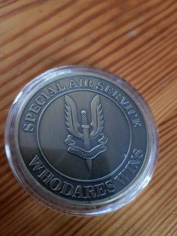 Pamiątkowy coin SAS