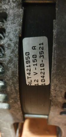 Генератор N 104210-3521 форд 1.6