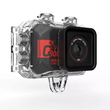 Kamera Sportowa G-EYE 900 4K FULL HD + pilot jak gopro hero