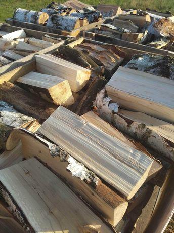 Drewno kominkowe brzoza suche