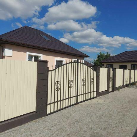 Продажа від власника без % нового  будинку с 70% ремонтом в Броварах!