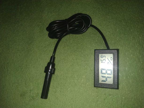 Термометр влагомер с выносным датчиком гигрометр