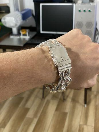 Серебряный браслет АРАБКА 180 грамм