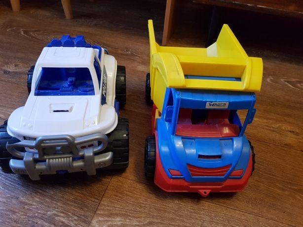 Машинка грузовик Wader и полицейская