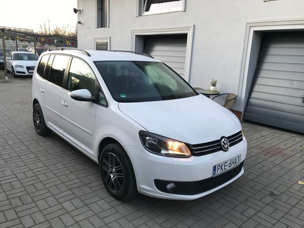 VW Touran 1.2 105 KM sprowadzony zarejestrowany climatronic parktronic