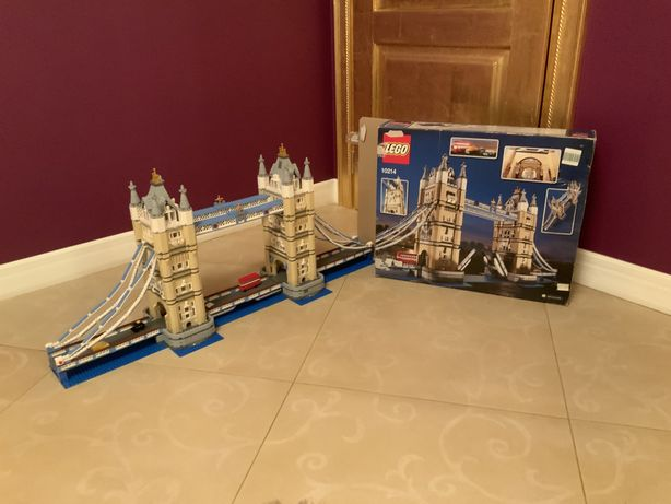 Конструктор LEGO, лондонский мост 10214
