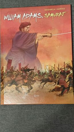 Samuraj. Komiks.  William Adams