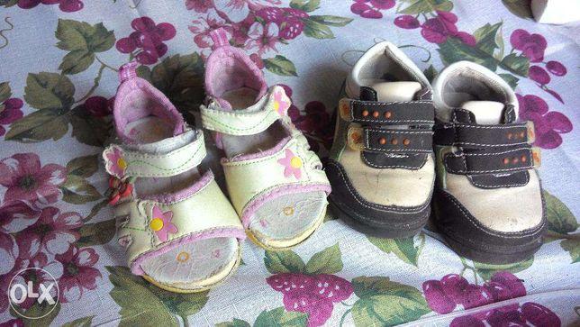 сандалики и кроссовки для девочки