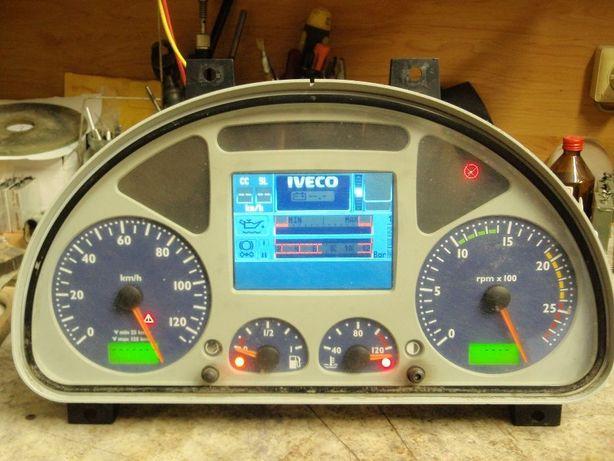Панель щиток приборов Ивеко IVECO Stralis. Не работает экран