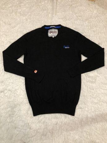 Sweter Superdry czarny rozmiar S