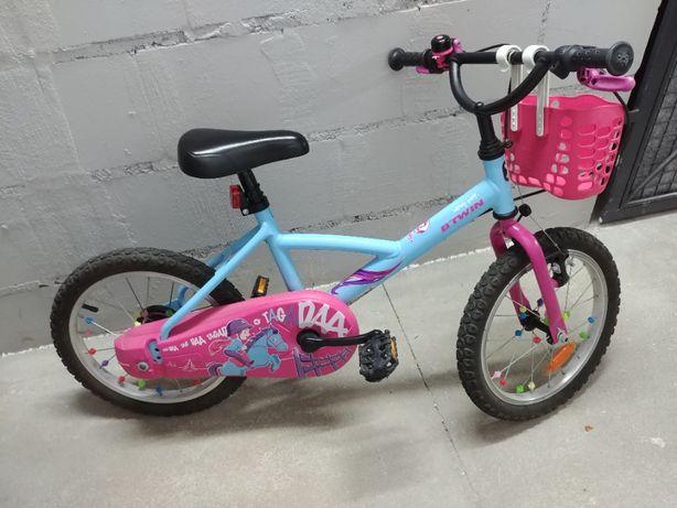 Rowerek BTWIN 16'' Wendy - dla dziewczynki