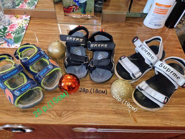 Сандали , босоножки на мальчика разные размеры