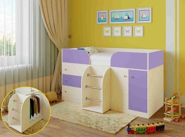 Кровать детская ліжко чердак
