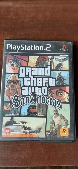 Grand the auto san andreas na ps2