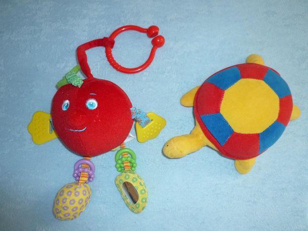 Tiny Love Mój pierwszy owoc Jabłkowy Andy+ żółwik z dzwoneczkiem
