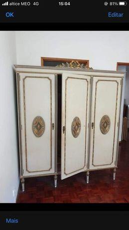 Móveis antigos roupeiro cómoda