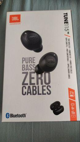 Słuchawki bezprzewodowe JBL Tune 115 Czarne