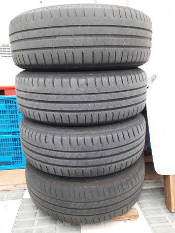 4 Pneus Michelin Mercedes e jantes