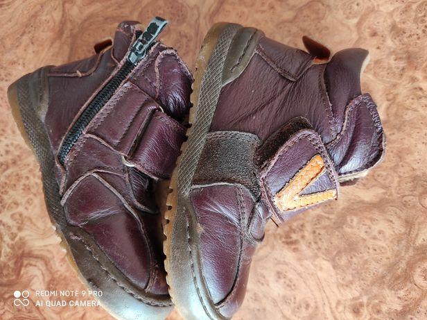 Осінні шкіряні черевички 25роз.