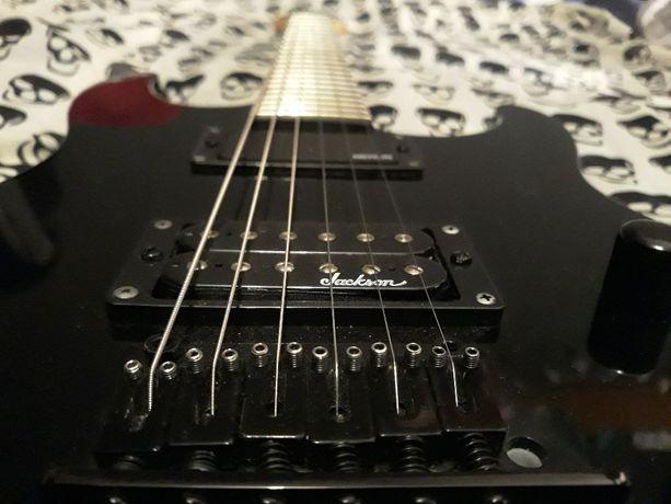 Gitara elektryczna JACKSON JS 11 DINKY BLK -pickup MERLIN HELLFIRE