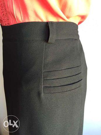 Ołówkowa spódnica- maxi -L