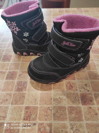 Зимние термо ботинки lupilu 22 размер( 14 см стелька)