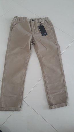 Nowe spodnie reserved r. 122