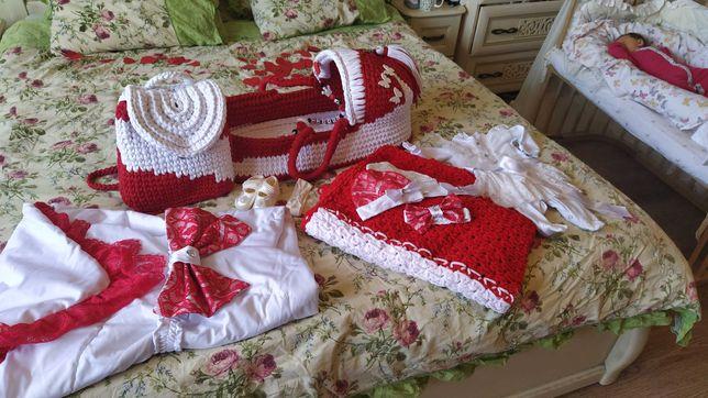 Конверт на выписку, переноска для новорожденного, плед, рюкзак
