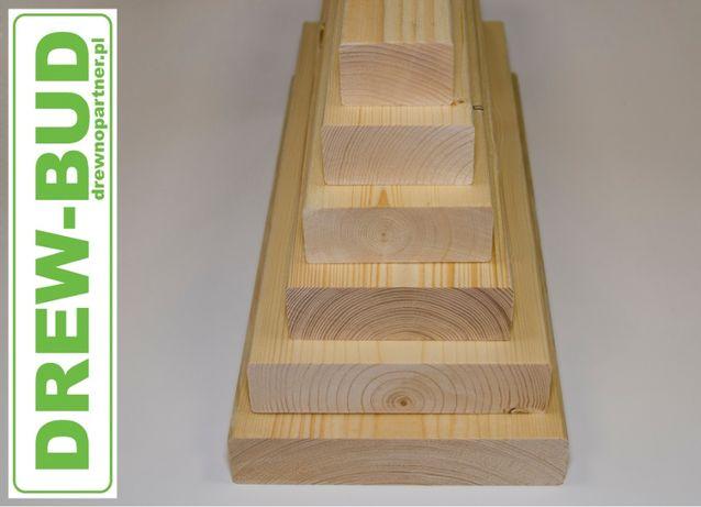 Drewno konstrukcyjne C24 świerk skandyna 45 x 45/70/95/120/145/195/220