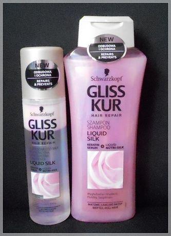 NOWE Kosmetyki do włosów GLISS KUR.