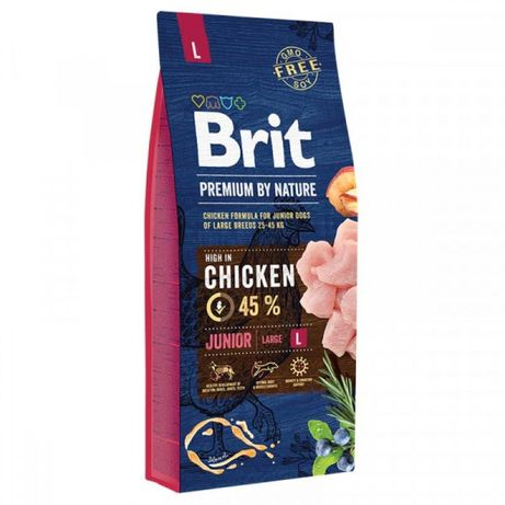 Брит юниор л 15 кг (Brit premium)