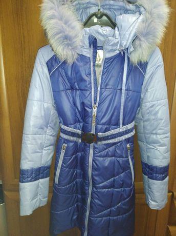 Зимнее пальто на девочку Barbaris