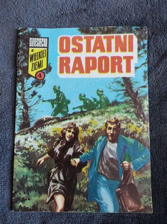 """Komiks """" Ostatni raport """""""