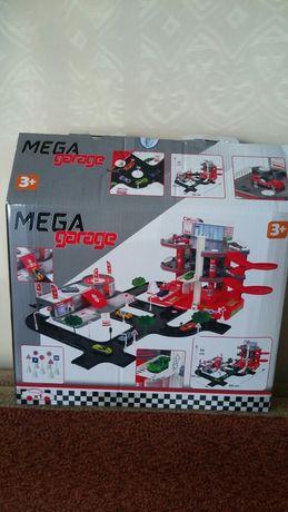Zabawka dla chłopca garaż zjeżdżalnia parking dla samochodow