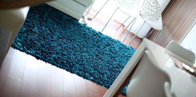 dywan turkus turkusowy 3d 150x240cm niebieski nowoczesny