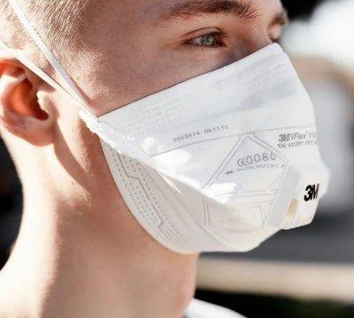 """Респиратор маска 3М Vflex 9161E c клапаном выдоха 3M """"CoolFlow"""""""