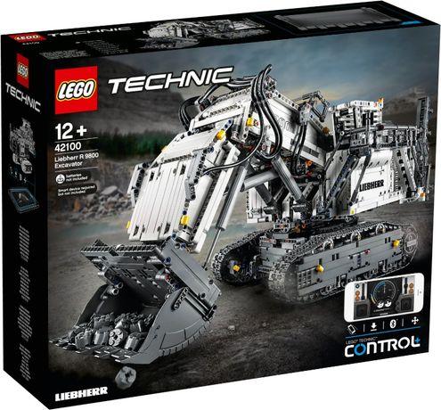 LEGO   (42100) - Liebherr Bagger R 9800 (ескаватор)